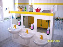 Neue waschräume für den Kindergarten, unsere Dienstleistungen, Firma Baum