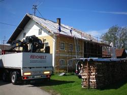 Dacharbeiten, Dachdecken in Österreich,Christian Baum, Langenwolschendorf