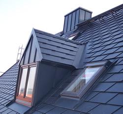 Prefadächer, Dacheindeckung mit Prefa, leicht, Aluminium